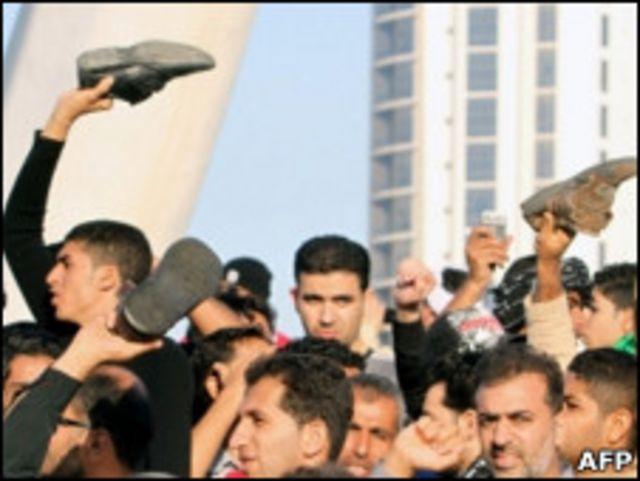 Акция протеста в Бахрейне
