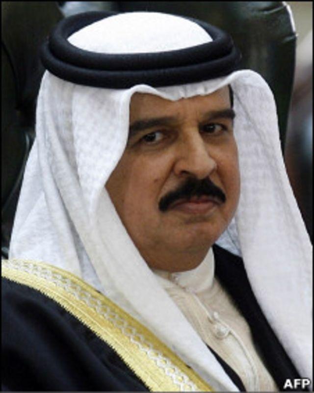 Король Бахрейна Хамада бин Иса Аль Халифа