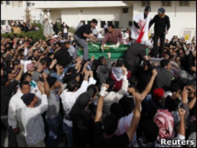 巴林民眾抗議