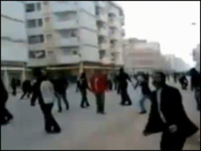 利比亞班加西示威者(18/2/2011)