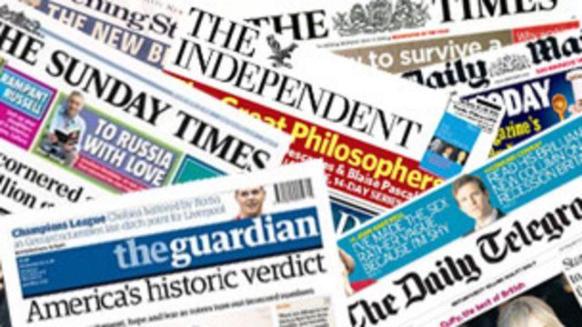 Пресса Британии