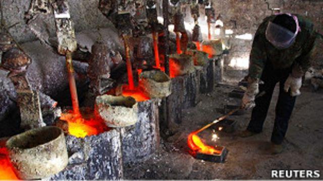 稀土冶煉廠