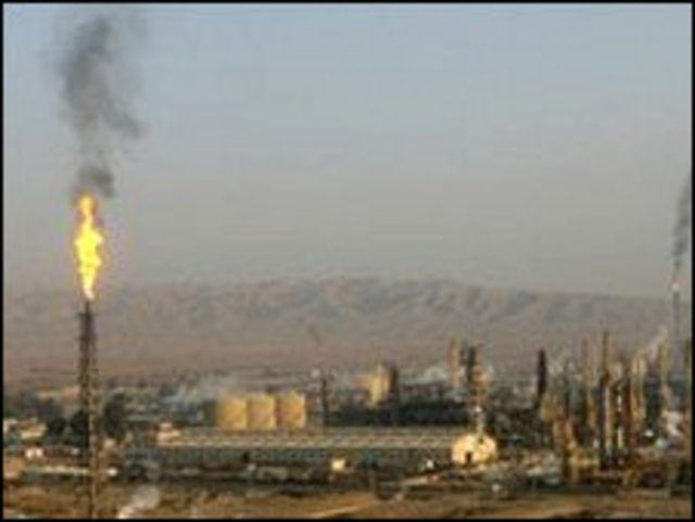 伊拉克拜伊吉煉油廠(資料圖片)
