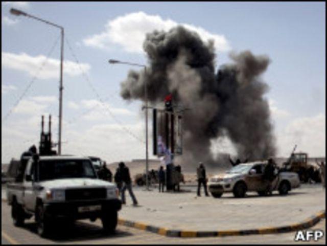 拉斯拉努夫城外反叛力量據點遭空襲