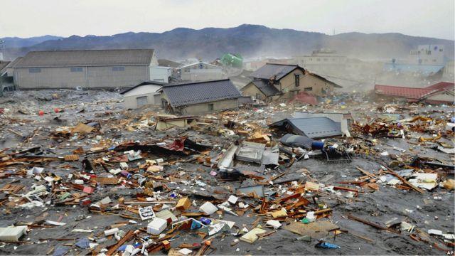 كيسينوما بعد الزلزال وتسونامي