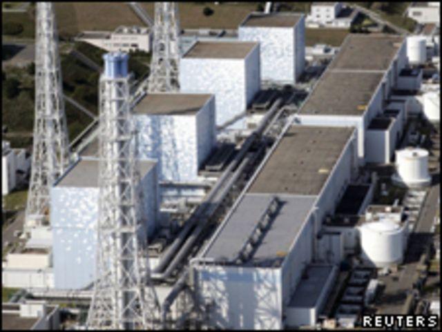 日本福島縣第一核電站核能發電機組資料圖片(10/2008)