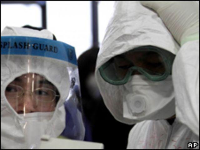 日本防輻射人員