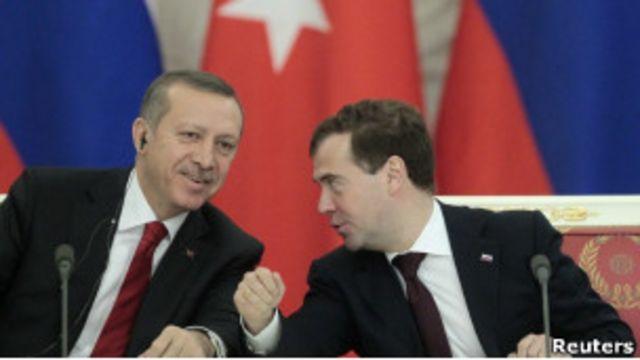 Эрдоган и Медведев