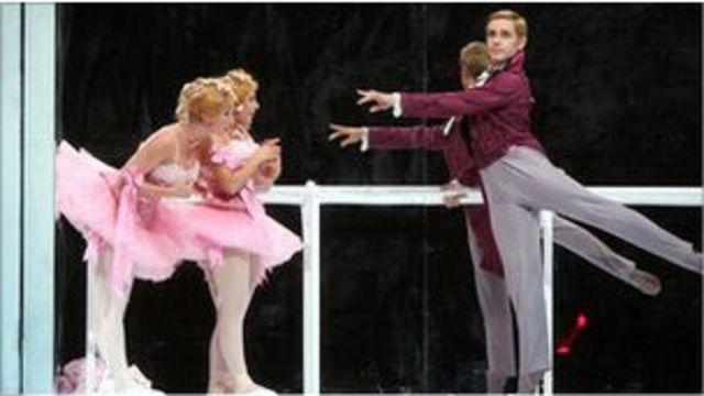 Сцена из спектакля Большого театре