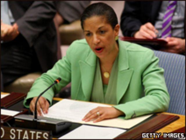 美國駐聯合國代表萊斯(17/03/2011)