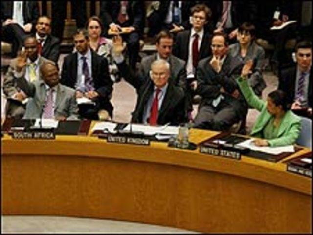 聯合國投票