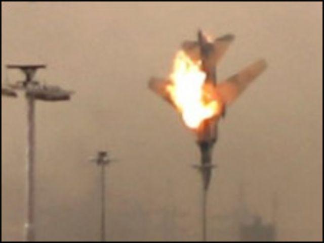 軍機在班加西被擊落