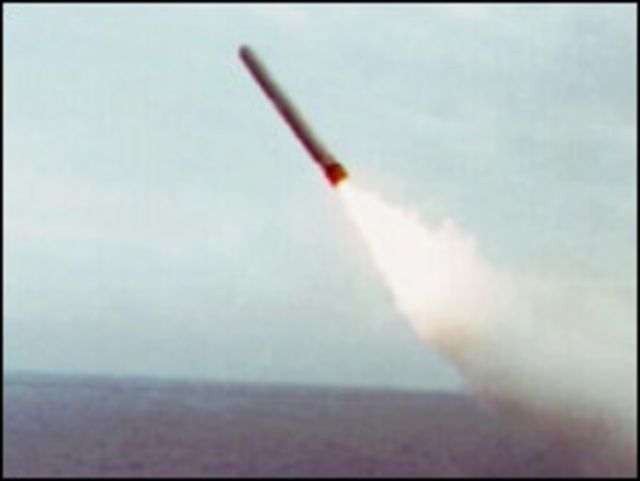 美國戰斧導彈
