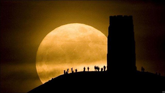 Torre de St Michael en Glastonbury