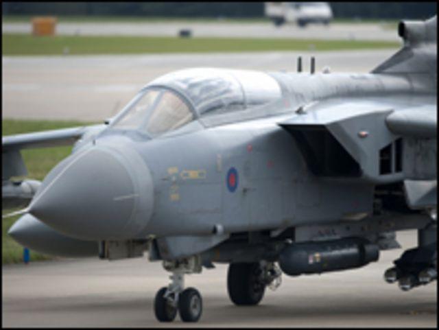 英國戰機參與了空襲利比亞的聯軍行動。