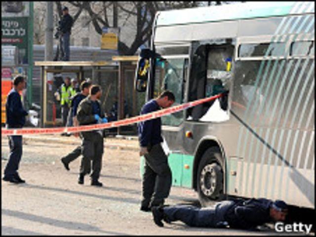 耶路撒冷公交車站