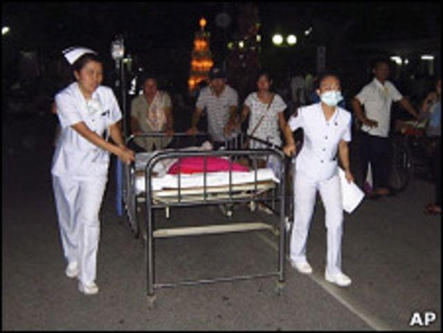 泰國清萊醫院也緊急疏散