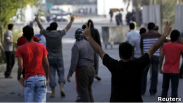 ناآرامی های اخیر در بحرین