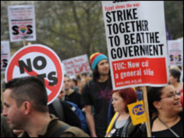 工會稱示威人數高達25萬到50萬人