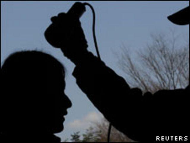 福島一名婦女接受核輻射檢查