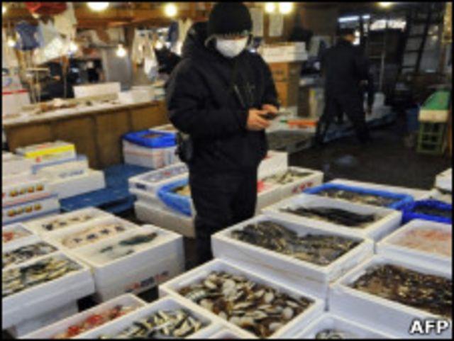 日本築地魚市場