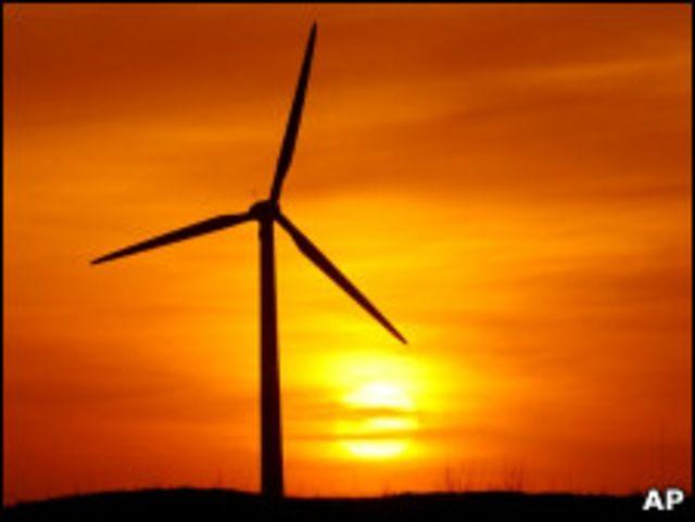 中國風力發電機