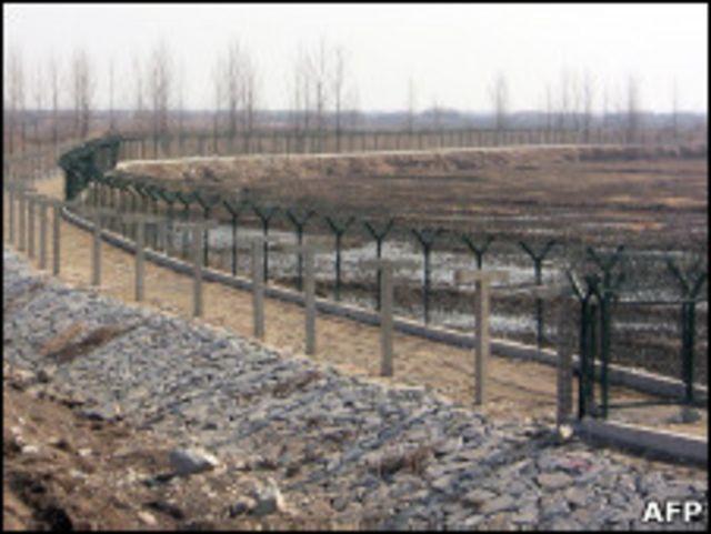 中朝邊境(2011年3月29日)