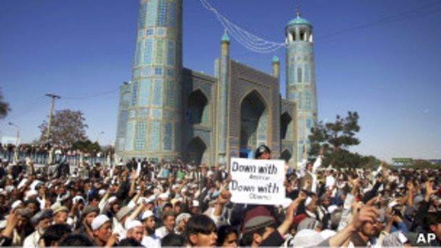 На месте событий в Мазари-Шарифе