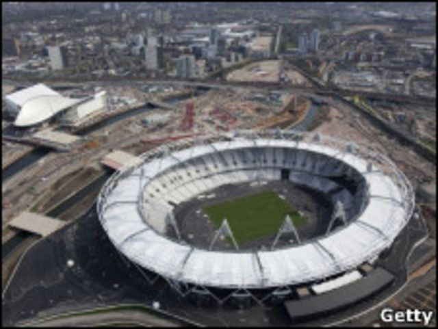 倫敦奧運主體育場