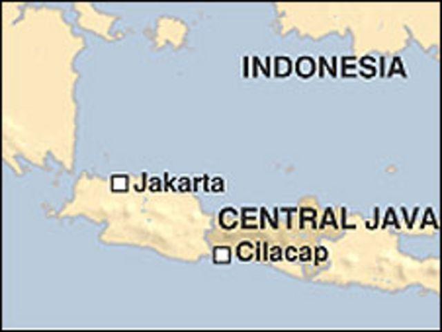 انڈونیشیا کا نقشہ(فائل فوٹو)