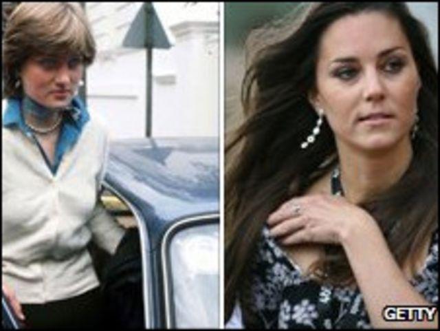 戴安娜王妃與凱特