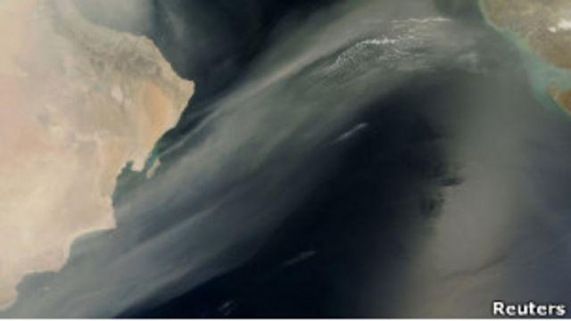 Снимок Аравийского полуострова из космоса