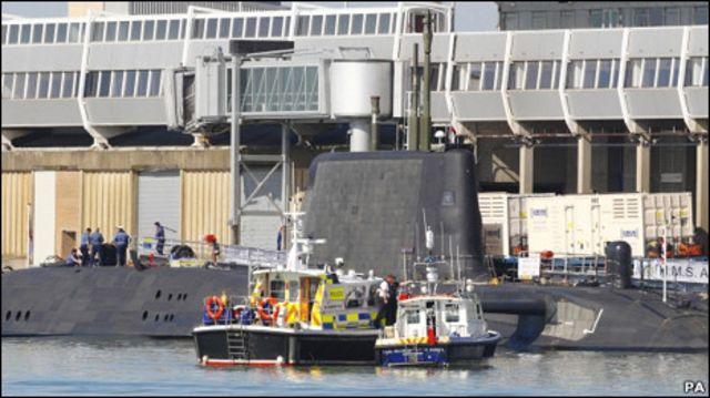 皇家海軍「機敏」號核潛艇