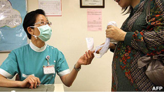 一名孕婦到香港某醫院求診(資料圖片)
