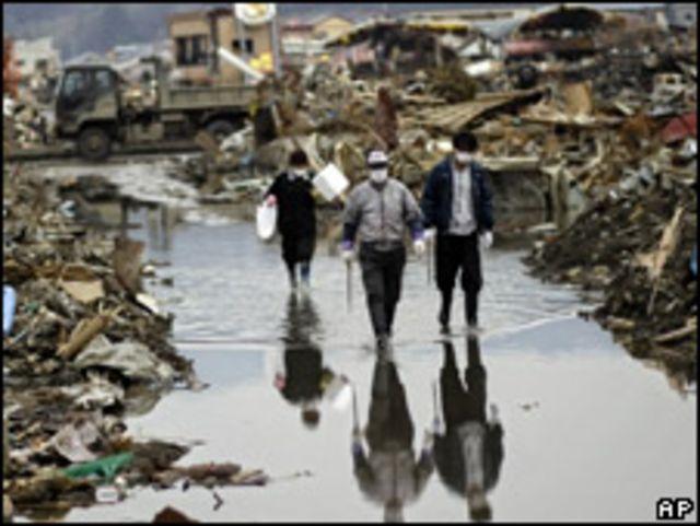 災區的廢墟(11/04/2011)