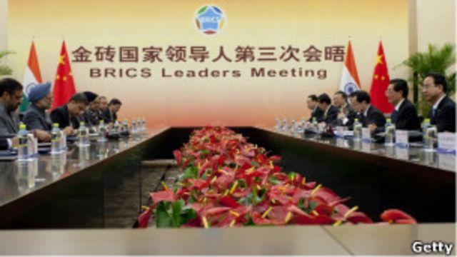 Vai trò của Trung Quốc  trong nhóm BRIC đang ngày càng lớn hơn.