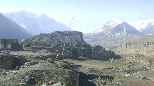 خرابههای قلعه بهرپنجه