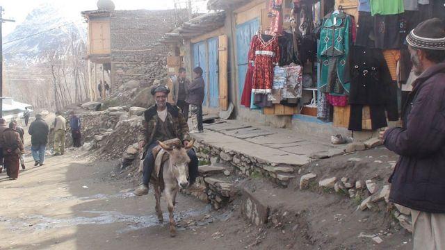 بازار مرکزی شغنان افغانستان