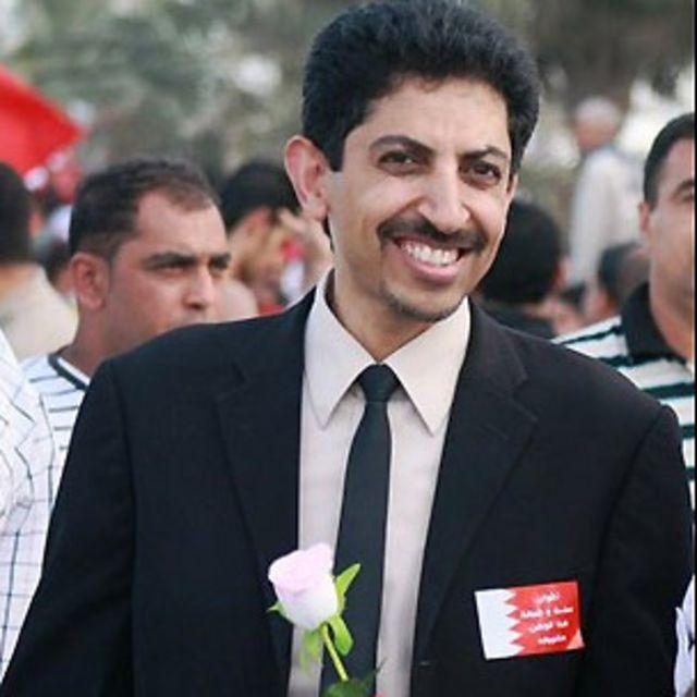 الناشط البحريني المعتقل عبد الهادي خواجة