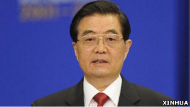 中國國家主席胡錦濤(新華社照片)