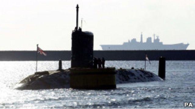 英國核潛艇