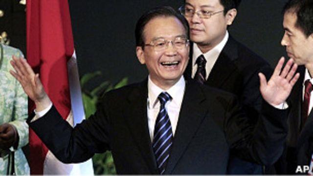溫家寶在雅加達印尼世界事務委員會發表演講(30/4/2011)