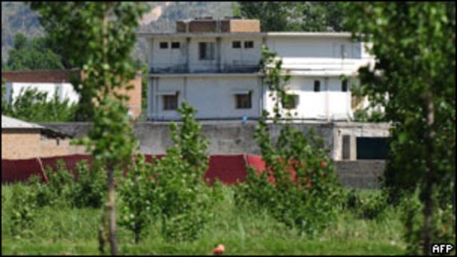 本·拉登在巴基斯坦的藏身處