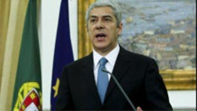 葡萄牙看守總理蘇格拉底