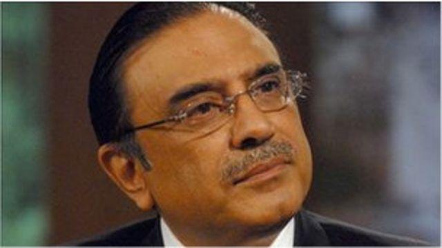 巴基斯坦總統卡爾扎裏