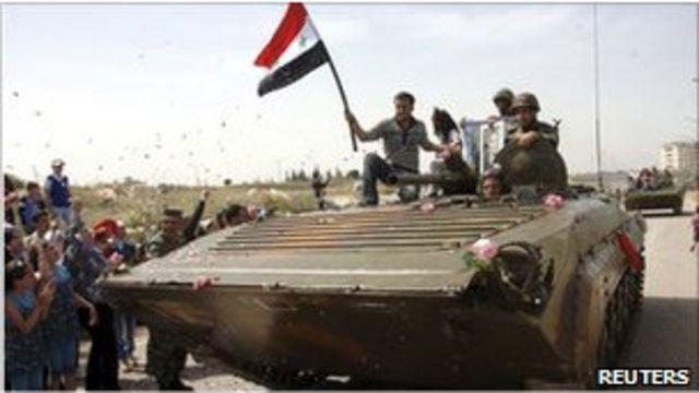 敘利亞坦克