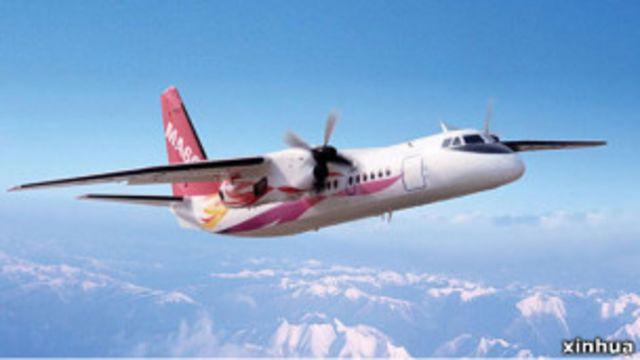 中國製造的新舟60支線飛機