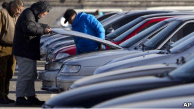 中國汽車銷售