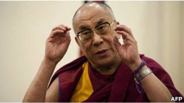 西藏精神領袖達賴喇嘛(13/05/2011)