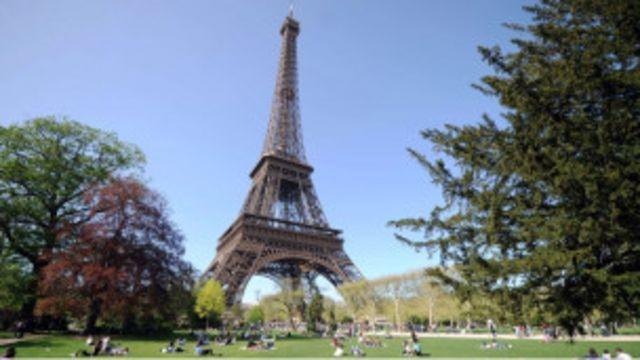 旅遊勝地巴黎